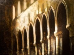 Cattedrale_oil on canvas_cm. 120x90_2006, Bergamo, Italy, private collection