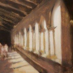 Chiostro_oil on canvas_cm. 45x60_2006
