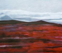 Islandische landscaft III_oil on canvas_cm. 100x80_2010