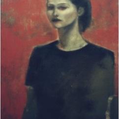Ritratto di Roberta_oil on canvas_cm. 50x70_2003