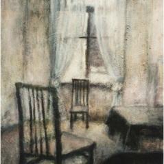 Silenzi_oil on canvas_cm. 60x80_2000