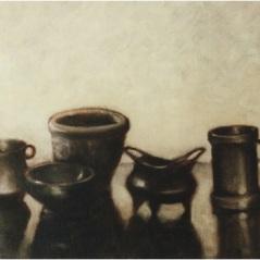 Stilleben_oil on canvas_cm. 30x40_2001