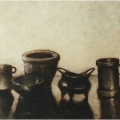 Stilleben_oil on canvas_cm. 30x40_2001