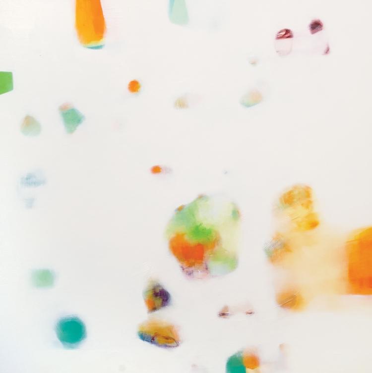 08-08 oil on canvas cm 100x100
