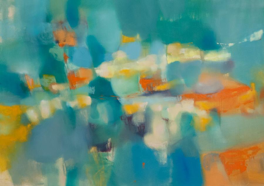 Landscape Sicily Elio Cassarà painting